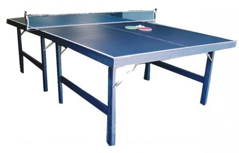 f2a191101 Mesas de Ping Pong para Sítios em Suzanápolis - Mesa de Ping Pong Dobrável  com Rodinha
